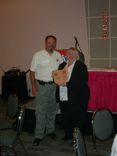 Judy Johnson, 2009 James S. Bridges Solid Waste Professional of the Year